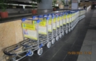 Advertising using Baggage Carts