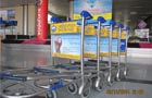 Baggage Trolleys Branding