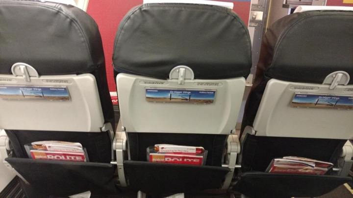 Airlines Seat Back Advertising