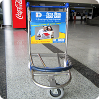 Airport Trolleys Advertisement